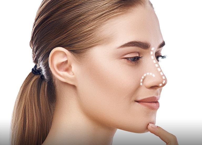 Korekcja kształtu nosa